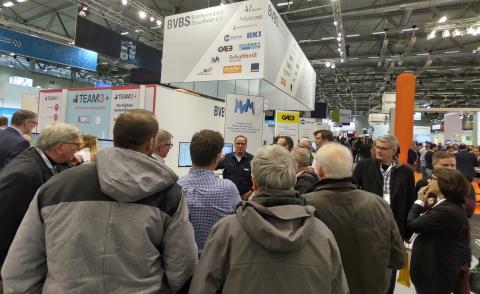 MWM-Stand auf der digitalBAU in Köln 2020
