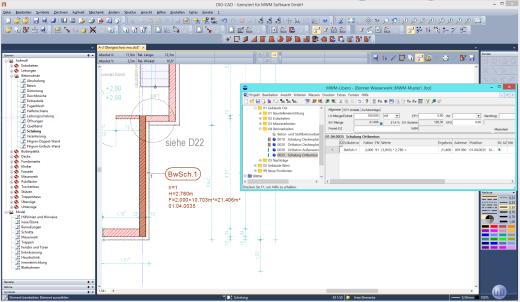 Berechnung und Darstellung des Faktors in DIG-CAD Aufmaß