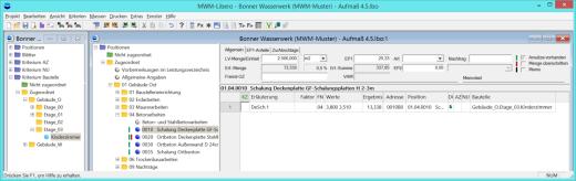 Gleichzeitiges Erfassen von Positionen und Räumen in MWM-Libero