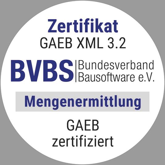 Zertifikat GAEB