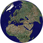 Google Earth Weltkugel