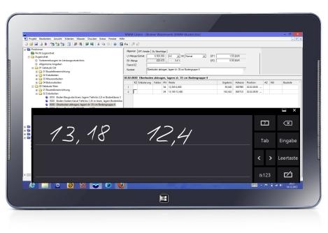 mobile Aufmaßermittlung mit MWM-Libero
