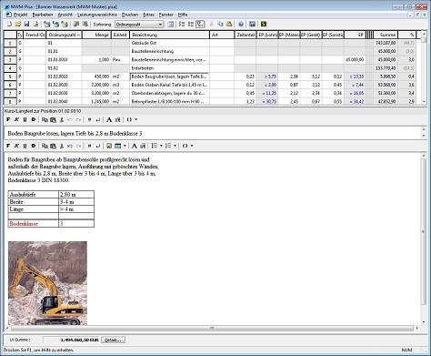 Formatierte Texte in MWM-Pisa