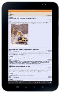 Samsung-Galaxy-Tablet mit MWM-Piccolo Android