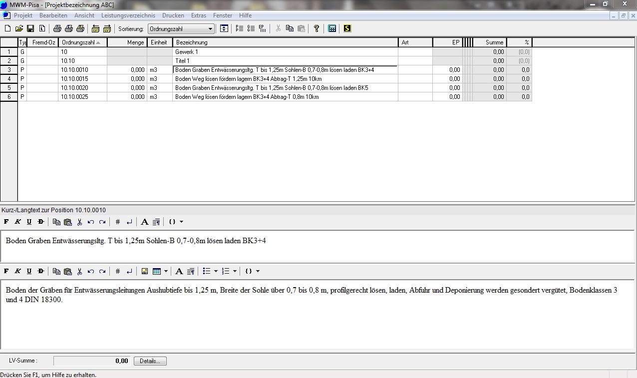 STLB-Bau Daten in MWM-Pisa