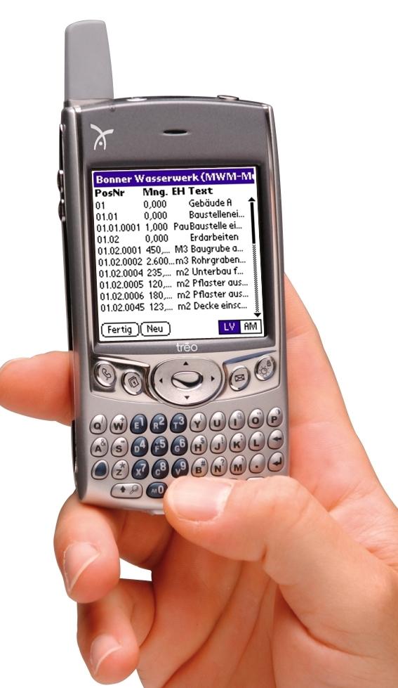 MWM-Piccolo auf dem ersten Smartphone