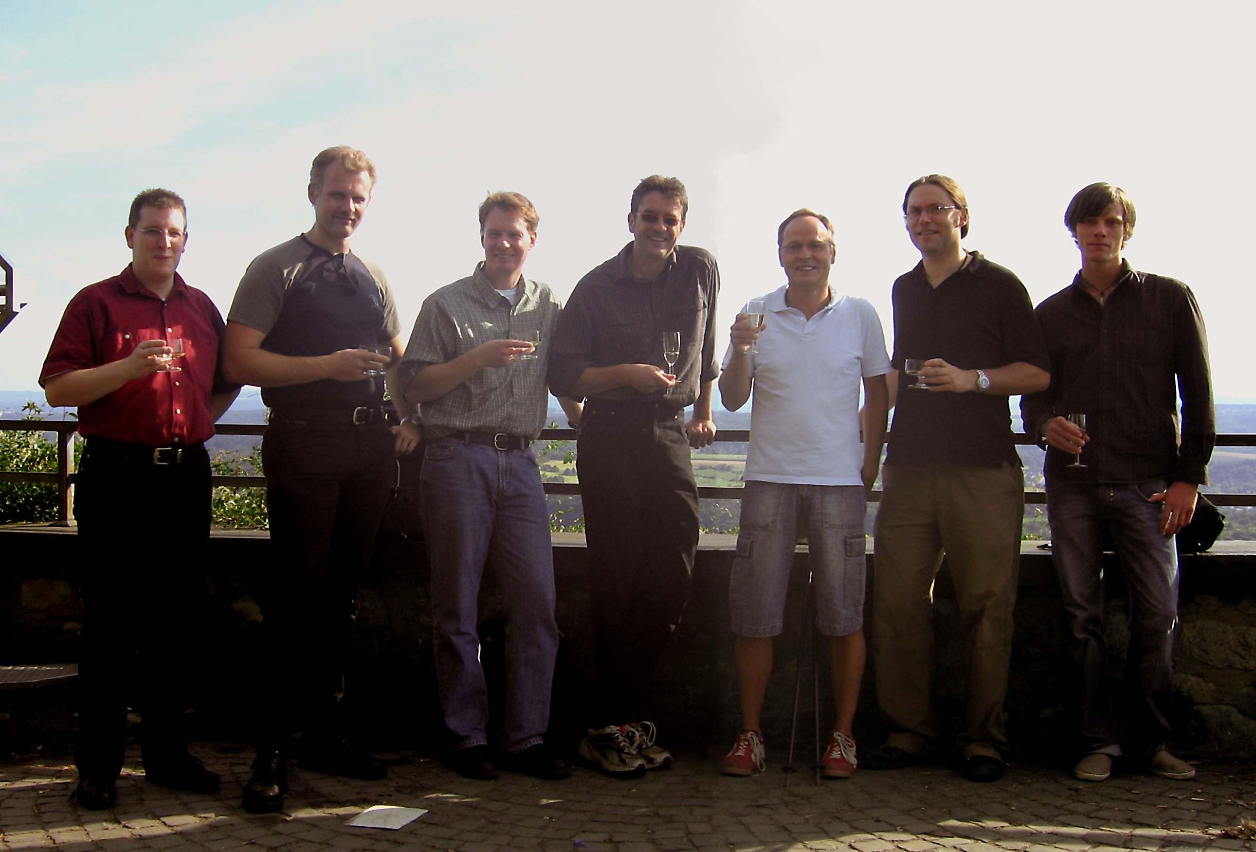 Das MWM-Team 2007