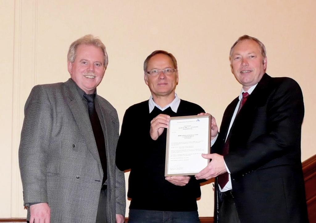 GAEB-Zertifikat für MWM-Pisa