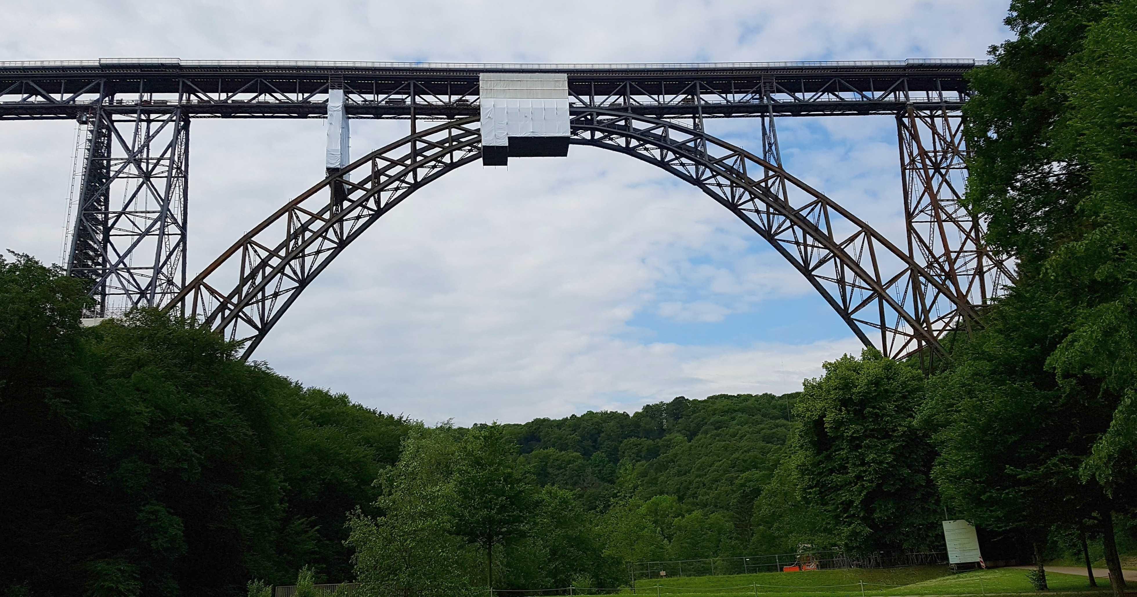 Die höchste Eisenbahnbrücke Deutschlands - Die Münstener Brücke