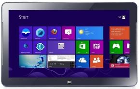 Windows 8 Samsung Tablet mit MWM-Software Metro Startbildschirm