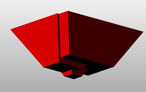 Die Baugrube im 3D-Viewer
