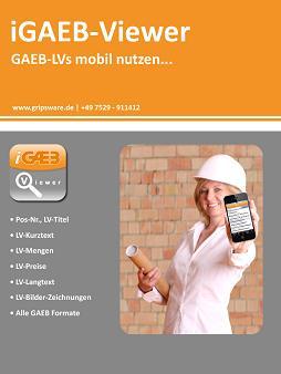 iGAEB-Viewer - GAEB-LVs mobil nutzen...