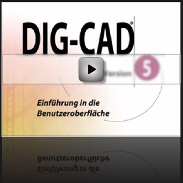 Tutorial DIG-CAD: Einführung in die Benutzeroberfläche